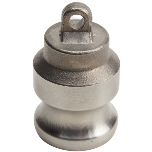 "Stainless Steel 1/2"" Camlock Male Dust Plug"