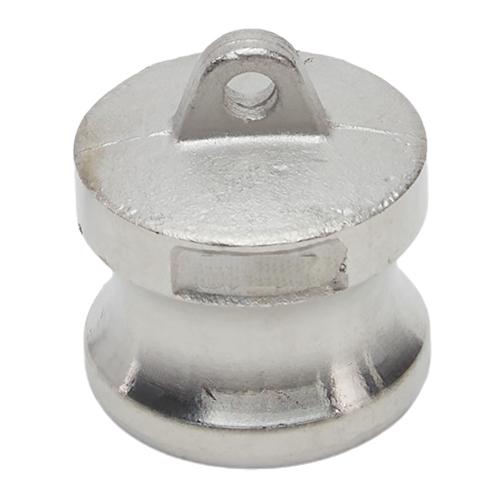 "Stainless Steel 3/4"" Camlock Male Dust Plug"