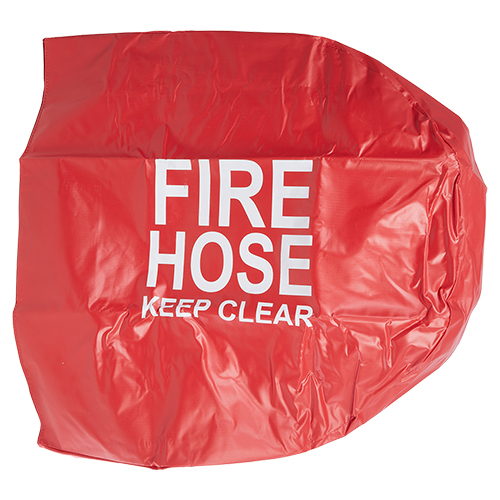 """Red 1 1/2"""" Fire Hose Reel Cover"""