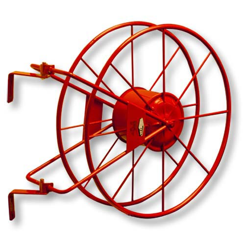 "Red 2 1/2"" Fire Hose Reel"