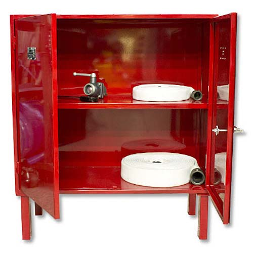 Large Fire Equipment Cabinet w/ Legs Fire Hose Cabinet