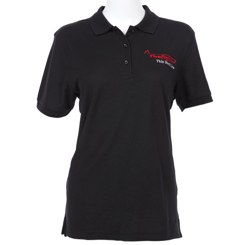 Ladies Flame Silk Touch Sport Polo (Large)