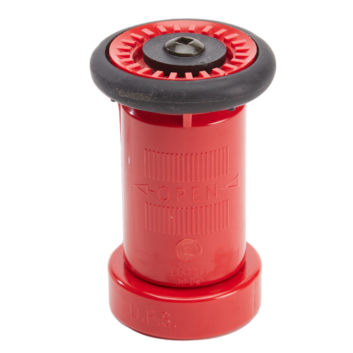 """Plastic 1 1/2"""" Red Fire Nozzle (NH)"""