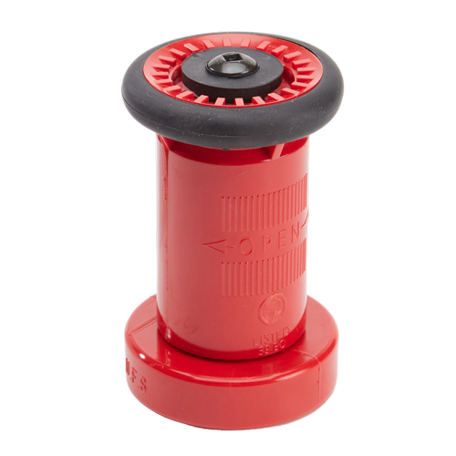 "Plastic 2"" Red Fire Nozzle (NPSH)"