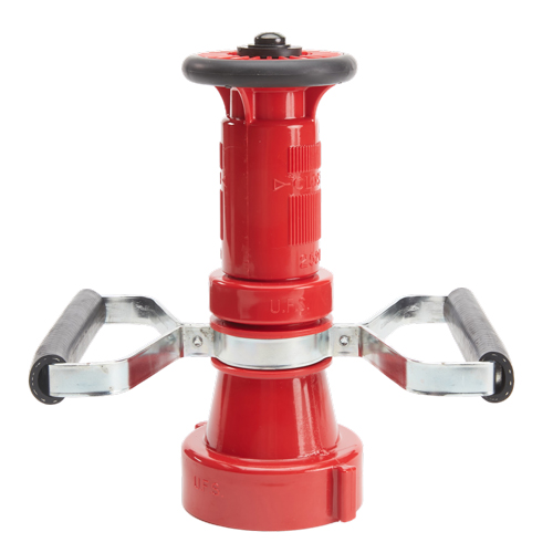 "Plastic 2 1/2"" Red Fire Nozzle With Handles (NH)"