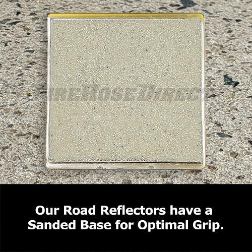 Yellow Reflective Road Marker - RMAB
