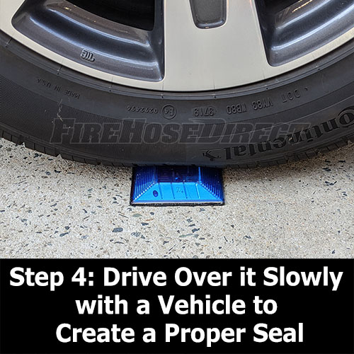 Peel-N-Stick Blue Reflective Road Marker - RMPBL