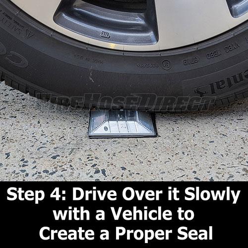 Peel-N-Stick White Reflective Road Marker (2 Pack) - RMPWH-2