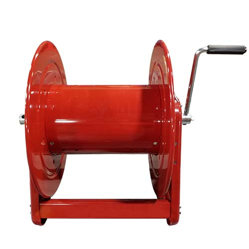 Small Dry Hose Storage Reel