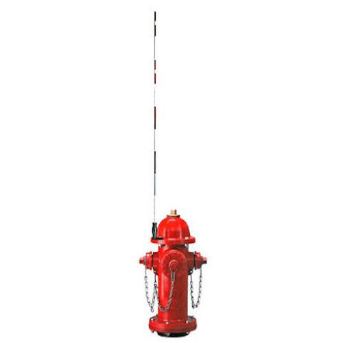 Top Mount Fiberglass Hydrant Marker - Steel Bracket (5-Pack) - TMFHMS-5
