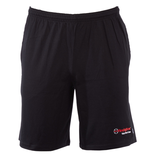 Maltese Cross Champion Cotton Jersey Shorts with Pockets (Medium)