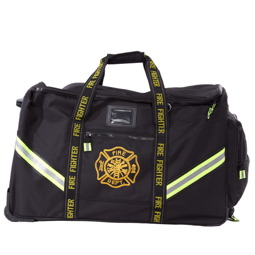 Maltese Cross Turnout Gear Bag; Luggage Style w/ Wheels