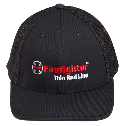 Maltese Cross Trucker Flexfit Mesh Cap (Small / Medium)